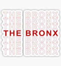 The Bronx - Thank You bag Sticker