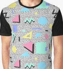 Memphis Pastel Graphic T-Shirt