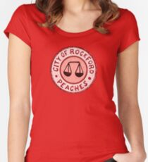 League of Their Own - Rockford Peaches Women's Fitted Scoop T-Shirt