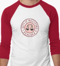 League of Their Own - Rockford Peaches Men's Baseball ¾ T-Shirt