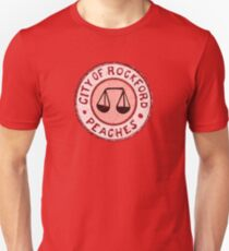 Eigene Liga - Rockford Peaches Slim Fit T-Shirt