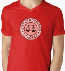 League of Their Own - Rockford Peaches Men's V-Neck T-Shirt
