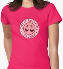 League of Their Own - Rockford Peaches Women's Fitted T-Shirt