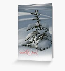 'Peaceful Christmas in Finnish - part I' Greeting Card