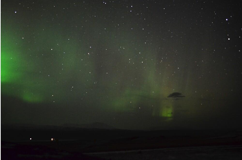 Iceland - Northern Lights by WolfAndOak