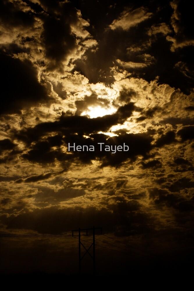 The Irani Sky by Hena Tayeb