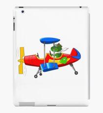 Dino BiPlane iPad Case/Skin