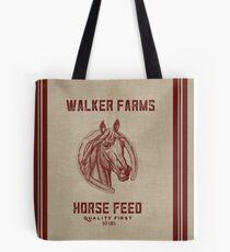 Walker Farms Horse Feed Vintage Sack Tote Bag