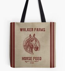 Walker Farms Horse Feed Vintage Sack Tote Bag
