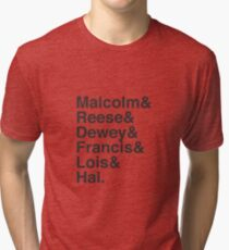 Malcolm In The Middle Characters Tri-blend T-Shirt