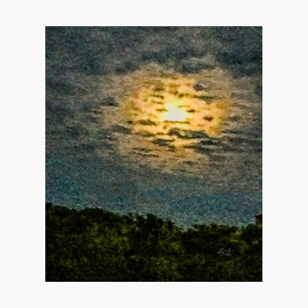 RISING MOON  Photographic Print