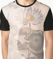 Lily Blue Graphic T-Shirt