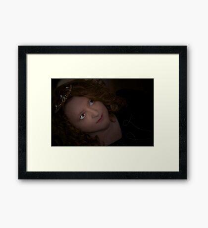 Rose Moxon revealed... Framed Print