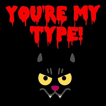 Funny Cat Vampire Design! by Banshee-Apps