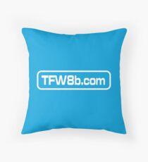 TFW8b.com logo Throw Pillow