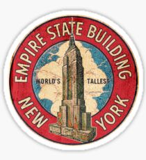 Empire State Building    worlds tallest Sticker