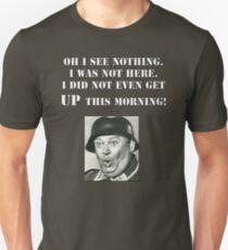Camiseta ajustada Héroes del sargento Schultz Hogan