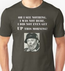 Sgt Schultz Hogan's Heroes Unisex T-Shirt