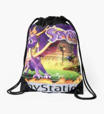 Spyro the Dragon Drawstring Bag