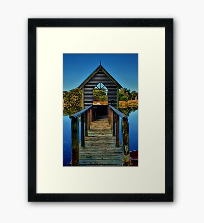 """Room With A View"" Framed Print"