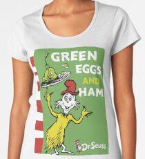 Green Eggs and Ham Women's Premium T-Shirt