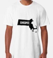 Chicopee, Massachusetts-Schattenbild Longshirt