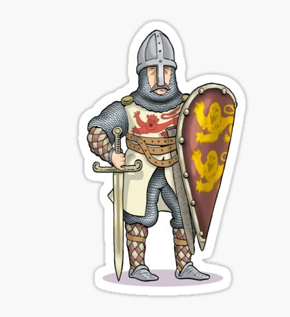 William the Conquerer Sticker