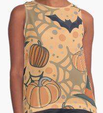 Halloween pattern Contrast Tank