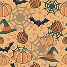 Halloween pattern by lauryngrafica