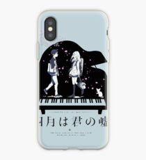 Shigatsu wa Kimi no Uso  iPhone Case