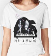Shigatsu wa Kimi no Uso  Women's Relaxed Fit T-Shirt