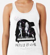 Camiseta de tirantes para mujer Shigatsu wa Kimi no Uso