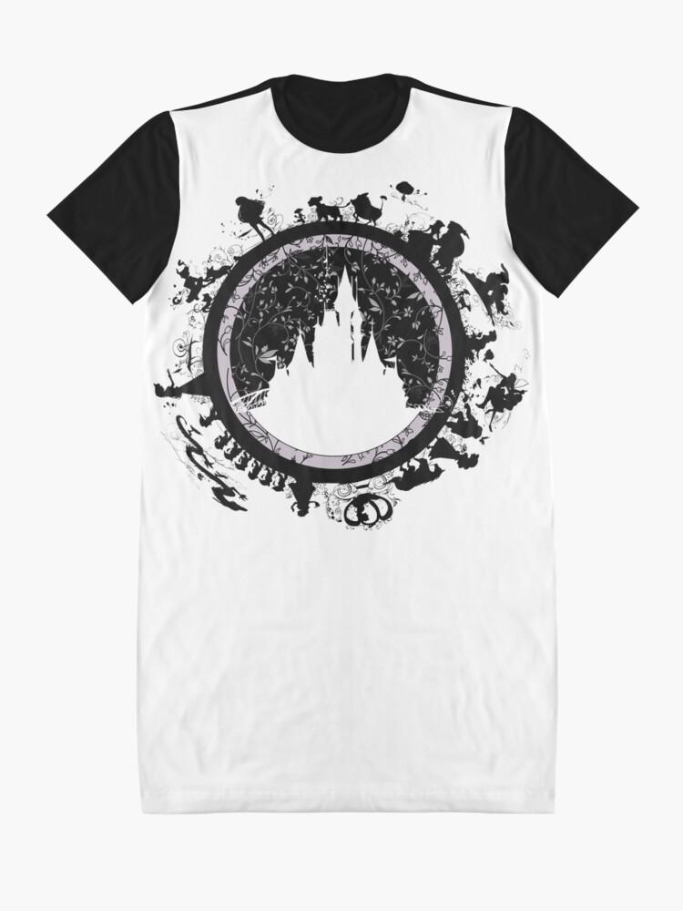Alternative Ansicht von Magisches Königreich v1 T-Shirt Kleid