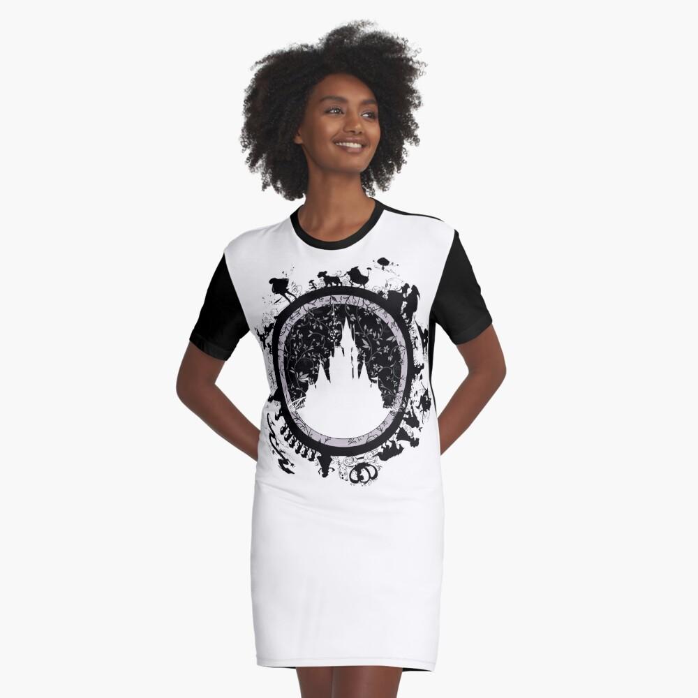 Magisches Königreich v1 T-Shirt Kleid