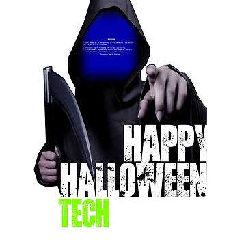 Happy Halloween IT Support by Nazyl