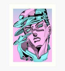 Jotaro Eject Art Print