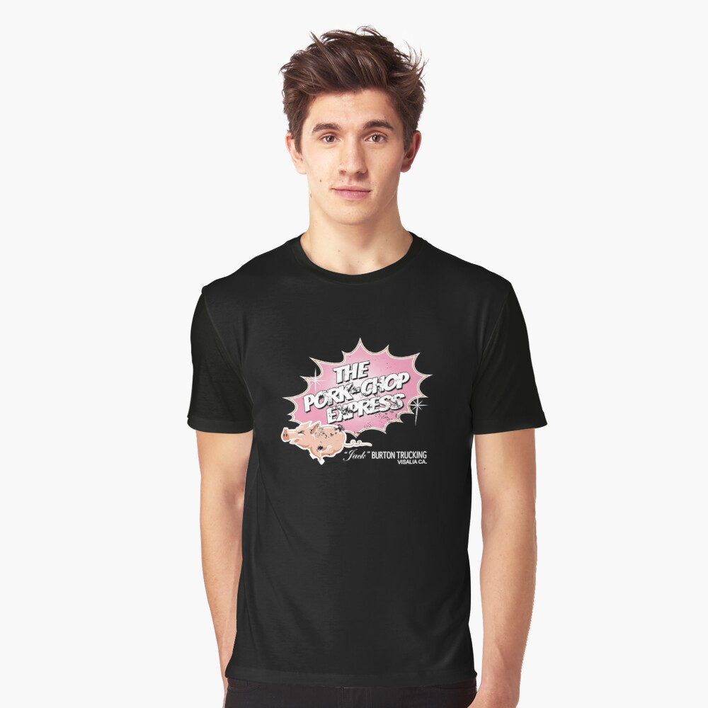 Pork Chop Express Distressed Pink Dust Variant Graphic T Shirt By