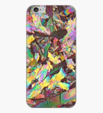 Healthy crystals: Malic acid under the microscope iPhone Case