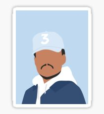 Chance the Rapper Vector Art Sticker