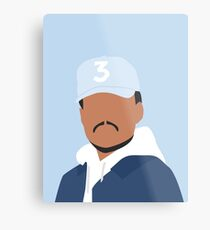 Chance the Rapper Vector Art Metal Print