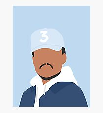 Chance the Rapper Vector Art Photographic Print