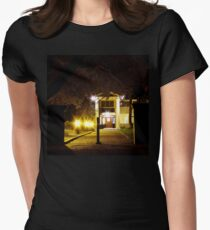 Night Mansion Women's Fitted T-Shirt