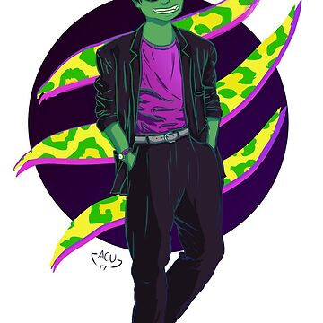 90s Beast Boy by ancuribe