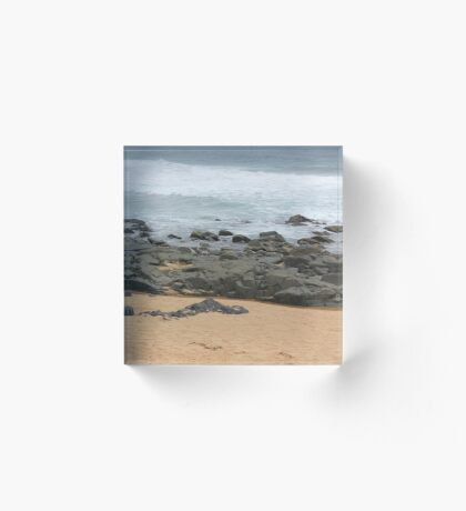 It was love at first sight... the day I met The Beach Acrylic Block
