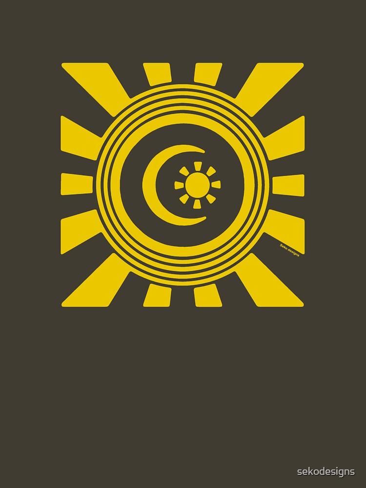 Mandala 34 Yellow Fever  by sekodesigns