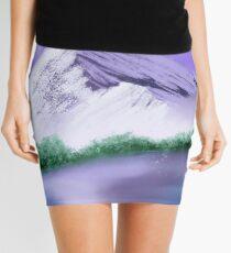 Purple Mountain Mini Skirt