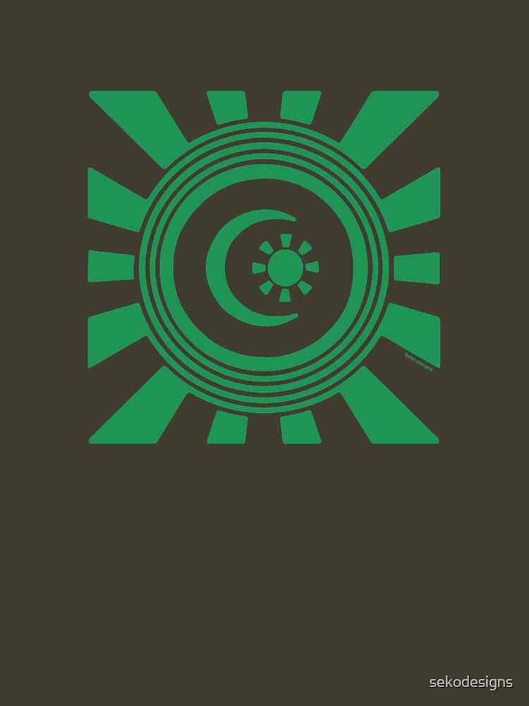 Mandala 34 Green With Envy  by sekodesigns