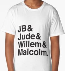 JB & Jude & Willem & Malcolm  Long T-Shirt