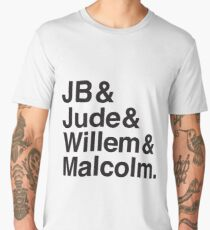 JB & Jude & Willem & Malcolm  Men's Premium T-Shirt