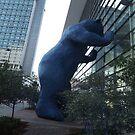 Bear Sculpture, Denver, Colorado  by lenspiro